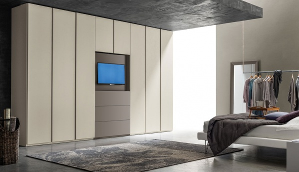 OPEN UNITS WITH SWIVEL TV STAND